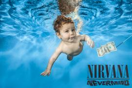 Nirvana Nevermind with Dollar and Wording